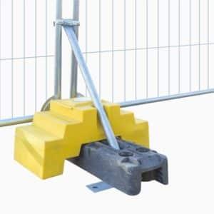 Mobilhegn - Ekstra vægtklods til byggepladshegn