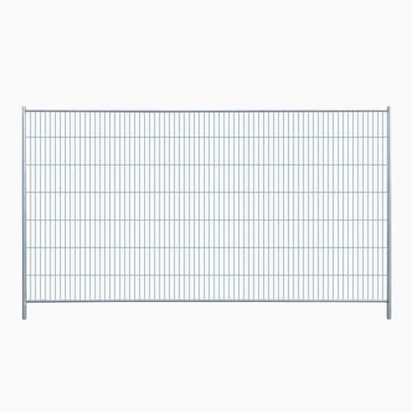 Standard byggepladshegn med firkantet top og anticlimp