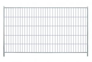 Byggepladshegn - Standard byggepladshegn med firkantet top