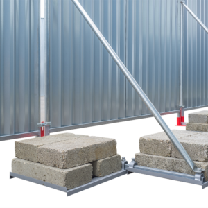 Byggepladshegn - Supportbøjle for blokade