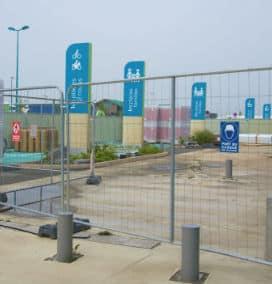 Byggepladshegn og mobilhegn - forskellige hegnstyper fra PIT Hegn