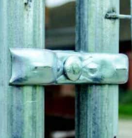 Afspærring med hegn - tilbehør til mobilhegn. Billige priser fra PIT Hegn