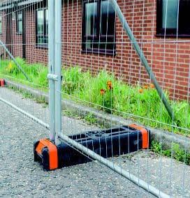 Afspærring - tilbehør til mobilhegn Skarpe priser fra PIT Hegn