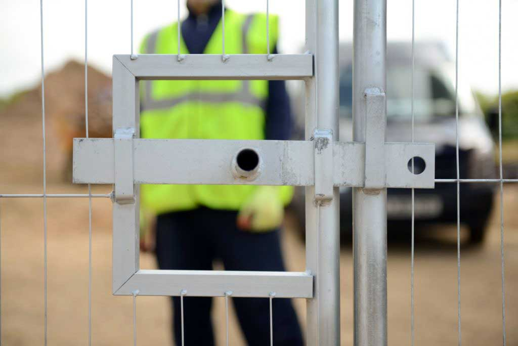 Mobilhegn - adgangskontrol med sikkerheds tilbehør. Danmarks måske billigste priser