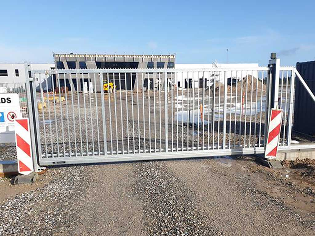 Mobil skydeport - alt til byggepladsen i byggepladshegn og port. Danmarks måske billigste priser