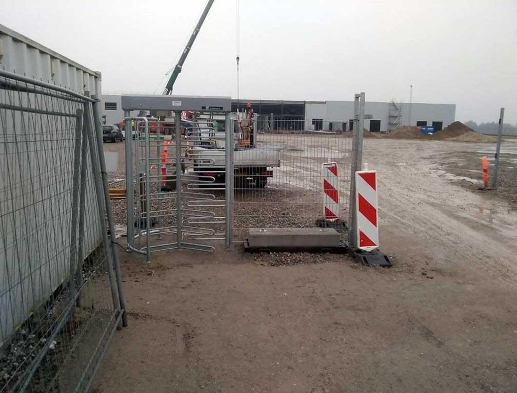 Skydeport - mobil port til byggeplads. Danmarks måske billigste priser